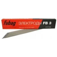 Электрод сварочный с рутиловым покрытием FB 3 D2.5 мм (пачка 0.9 кг)