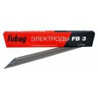 Электрод сварочный с рутиловым покрытием FB 3 D3.0 мм (пачка 0.9 кг)