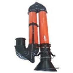 Подъемно-поворотное вытяжное устройство ЭКО-ЦЕХ ПВУ-2.0-160