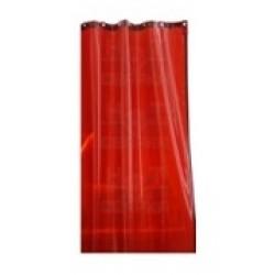 Сварочная штора ПВХ с заклепками ЭКО-ЦЕХ красный 1800*1400*0,4мм