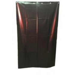 Сварочная штора ПВХ  ЭКО-ЦЕХ зеленый матовый 1800*1400*0,4мм