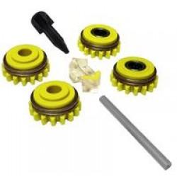 Комплект роликов для стальной проволоки SS (FE,CU) V1.6 GT04 KIT №1