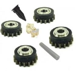 Комплект роликов для стальной проволоки SS (FE) V0.8-0.9 HD GT04 KIT №1