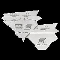 Измеритель KL1 (шаблон сварщика)